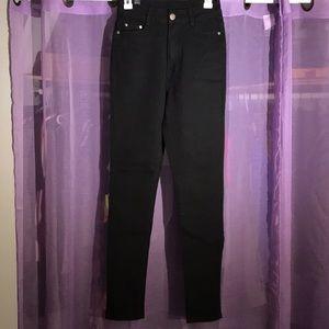 UWJ black high waist jeans